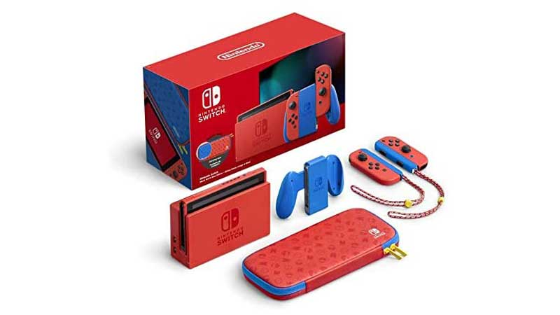 Where to Buy Nintendo Switch Mario Red and Blue Edition?