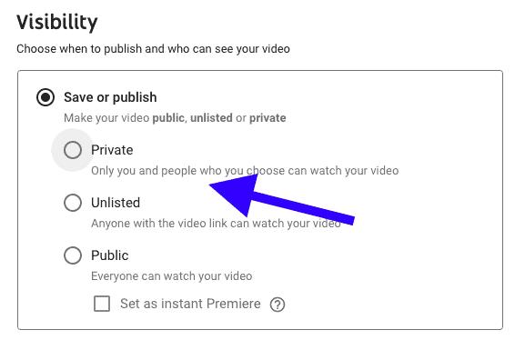 private version