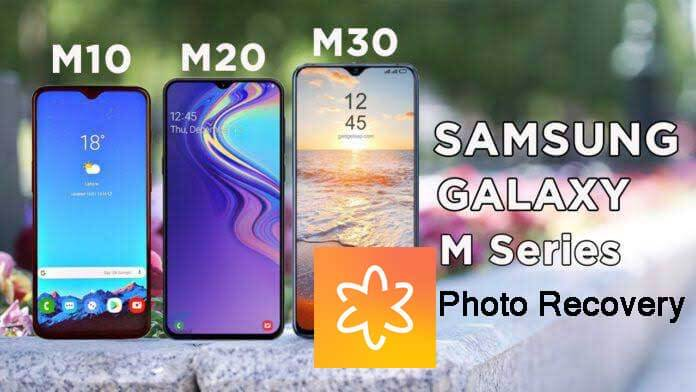 Samsung Galaxy M10, M20, M30 Photo Recovery