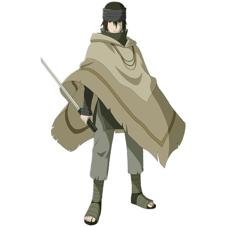Sasuke Last costume of the anime Naruto.