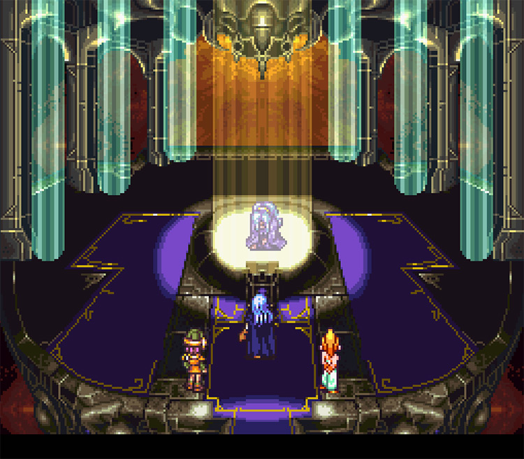 Screenshot of a game from the Schala series