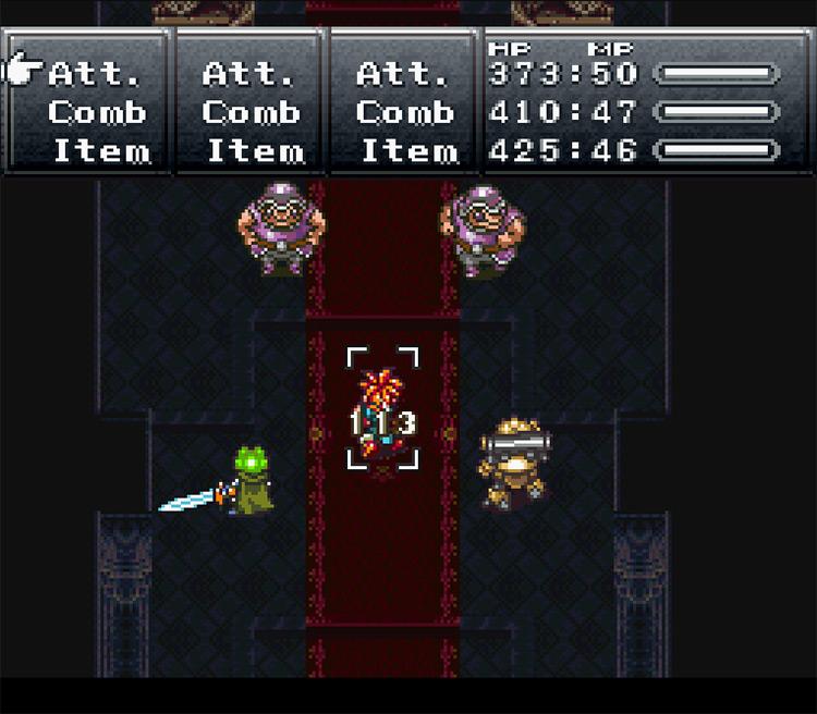 Screenshot of Chrono Trigger Platinum