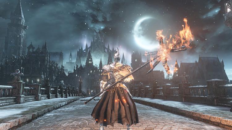 Screenshot of Fire Witch Set Dark Souls 3