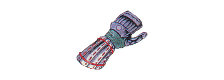 Screenshot of the Genji FFXIII glove