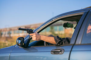 Shooting from a moving vehicle