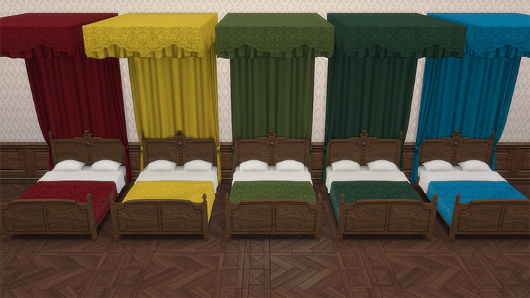 Sims 4 CC Victorian Set