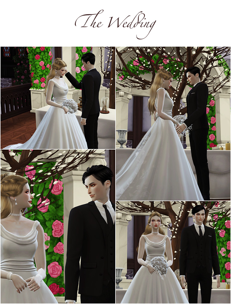 Sims Kits 4 CC Wedding Station Project