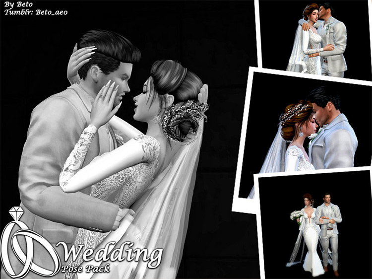 Sims Wedding Dose Pack 4 CC
