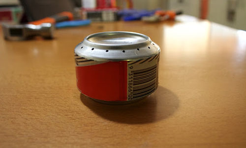 Survival for canned goods with soda