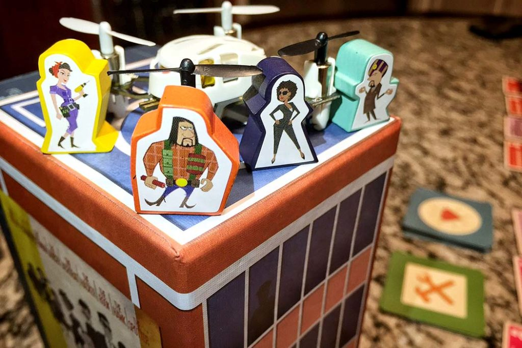 The board game of the Burgle brothers