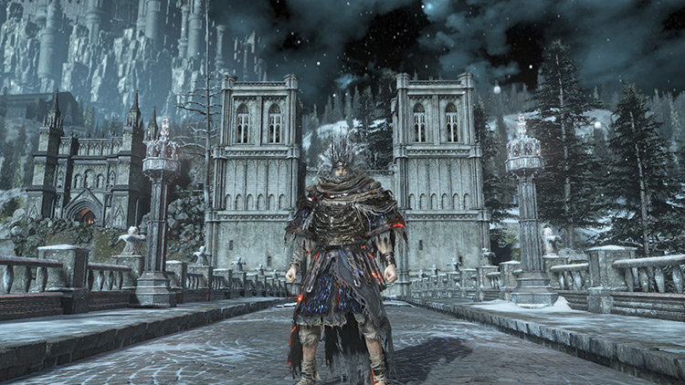 The Dragon's ladder of the Dark Souls 3