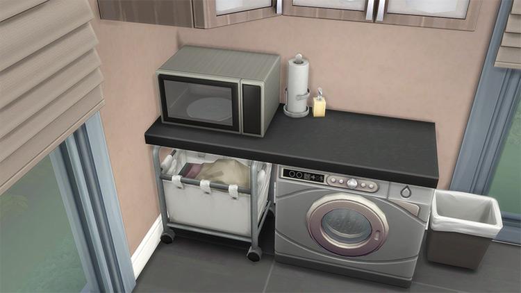 Under Teknikah Sims 4 CC Laundry Baskets