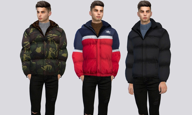 Sims 4 Jackets & Coats CC (For Guys & Girls) –
