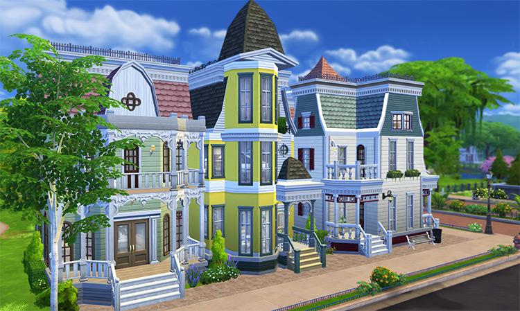 Victorienne Avenue Sims 4 CC