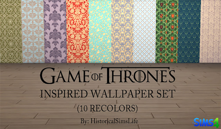Wallpaper game inspired by Game of Thrones TS4 CC