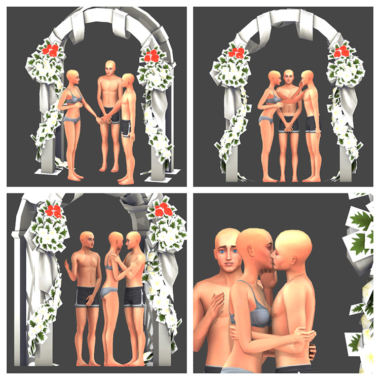 Wedding Dose Pack III for The Sims 4