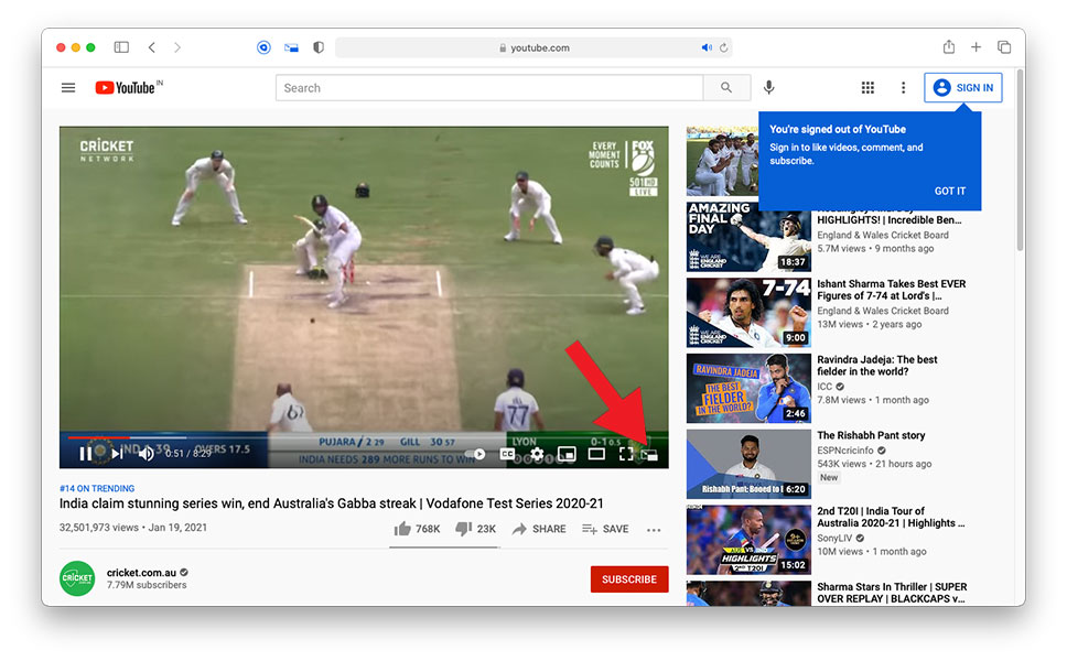 How to Watch YouTube Videos in Picture-in-Picture Mode in Safari on Mac