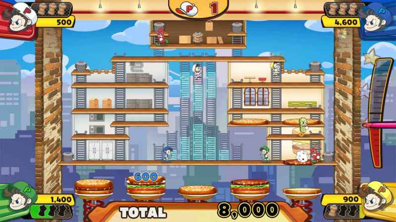BurgerTime Party Review –