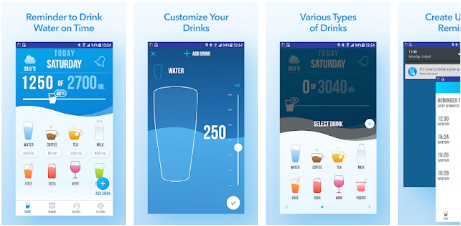 Top 7 Hydration apps for Android