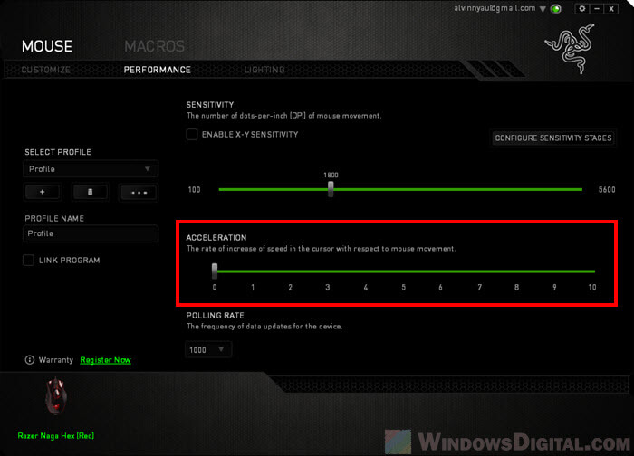 How to Turn Off Mouse Acceleration in Windows 10, Razer Synapse or Logitech G Hub