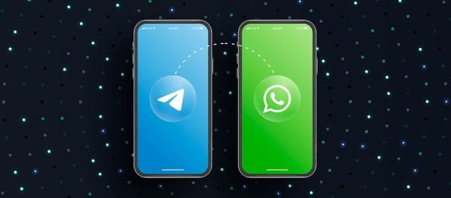 WhatsApp conversations can be migrated to Telegram on Android and iOS