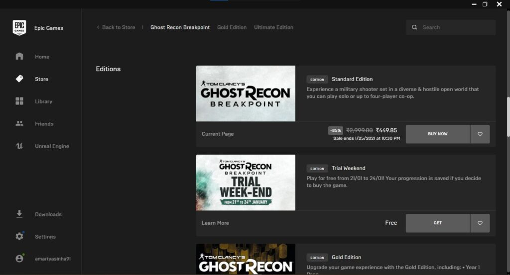 Download Ghost Recon Breakpoint Free for PC – January 2021