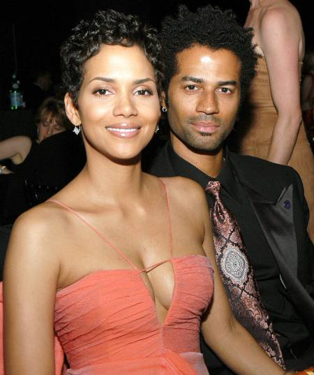 Halle Berry with Ex-husband Eric Benet
