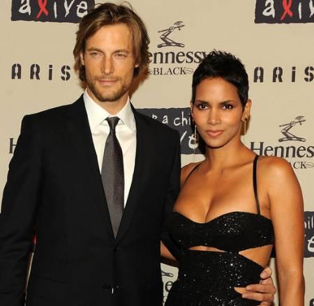Halle Berry with Ex-Husband Gabriel Aubry