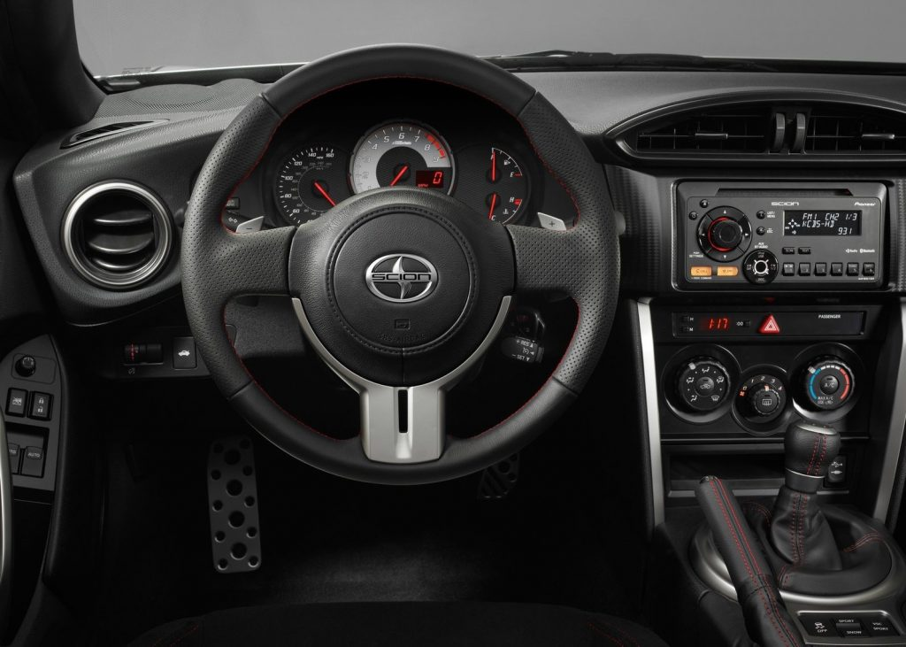 2013 Scion FR-S interior shot