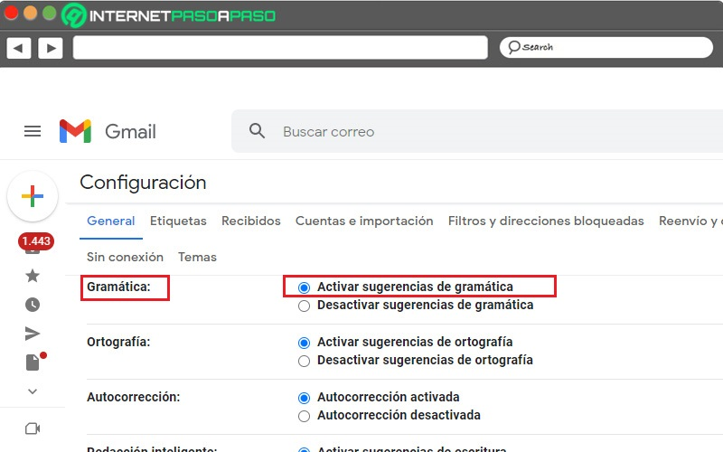 🥇Activate Gmail AutoCorrect Step by Step Guide ▷ 2021