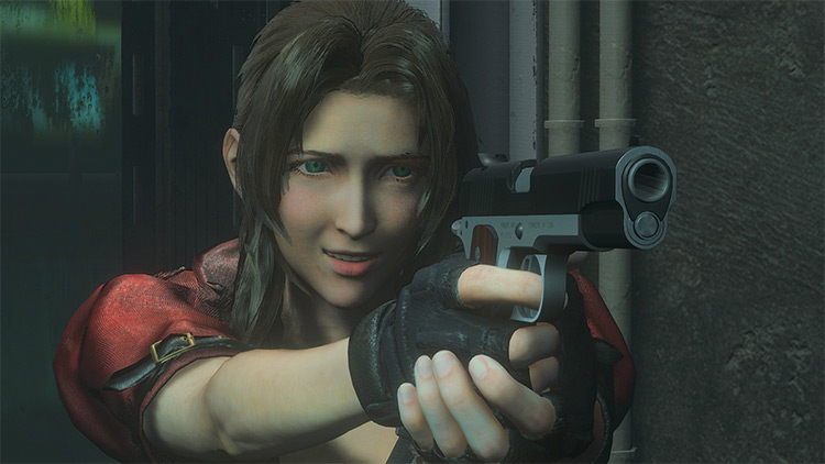 Aerith Gainsborough mod for RE3R