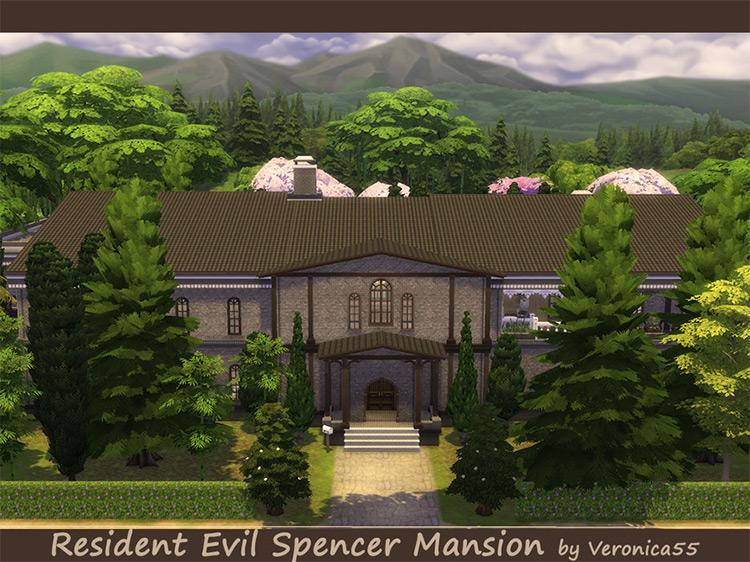 Alternate Spencer Mansion for The Sims 4