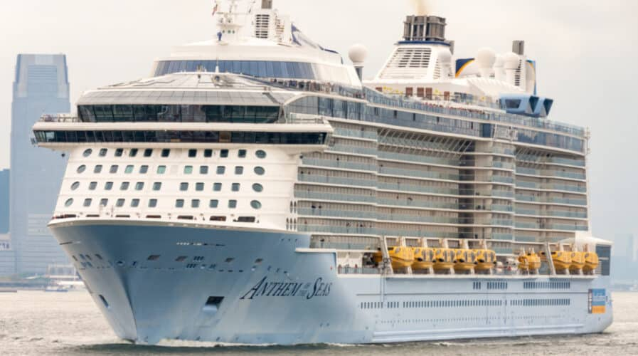 Anthem of the Seas In New York