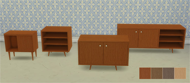 Back to Retro Cabinets - TS4 CC