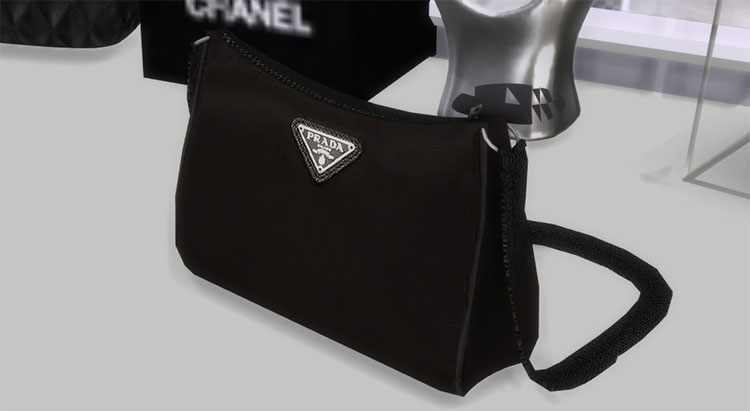 Basic Prada Bag CC for The Sims 4