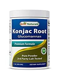 Best Naturals Konjac root glucomannan