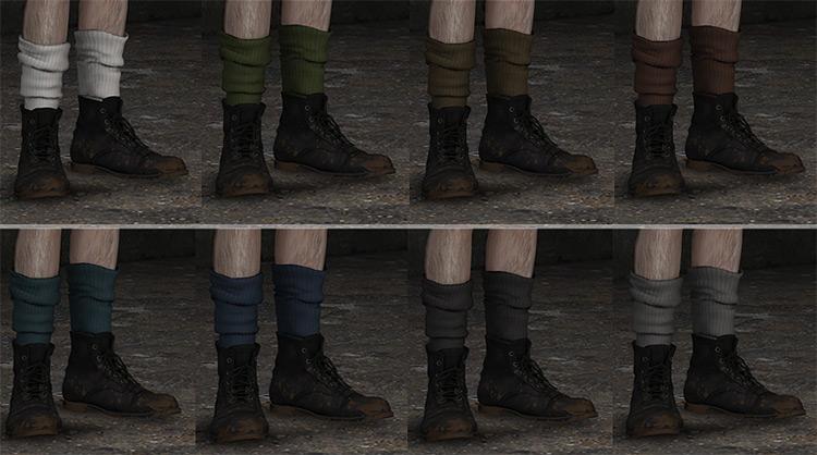 Chunky Socks by drt77 Sims 4 CC