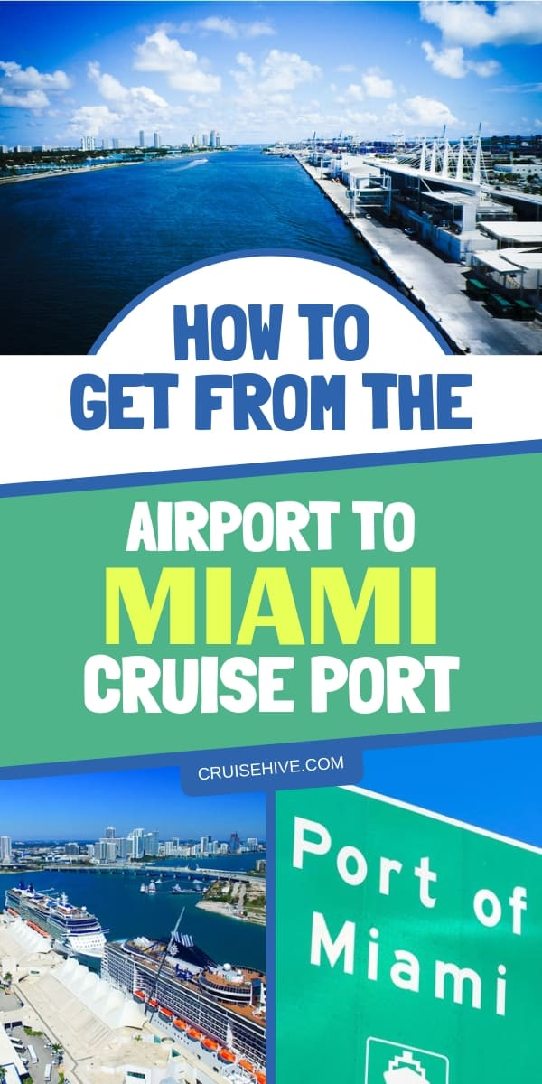 Cruise and travel tips for getting from these main Florida airports to the Miami cruise port. Your guide for a cruise vacation from Miami.
