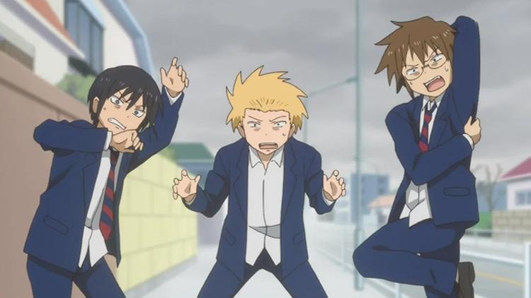 Daily Lives of Highschool Boys anime