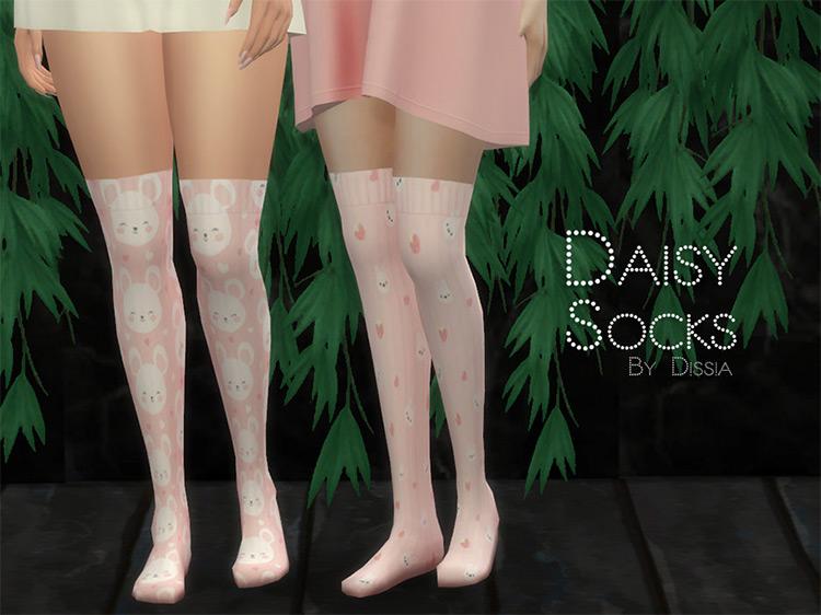 Daisy Socks by Dissia TS4 CC