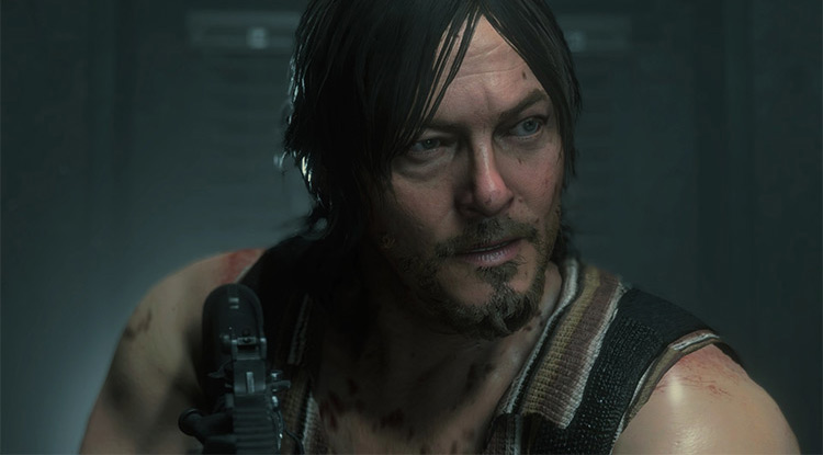 Daryl Dixon mod for Resident Evil 3 Remake