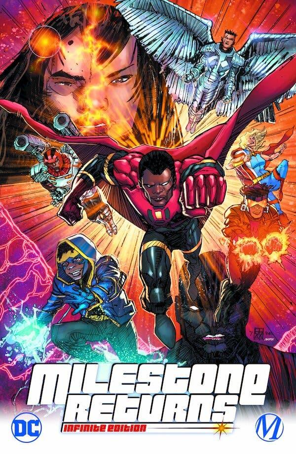 DC is reviving Milestone Comics, a groundbreaking imprint centered on Black, Asian, Hispanic and gay superheroes.