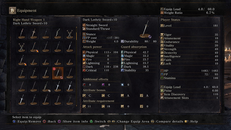 Dual-Scaling Magic Infusions in DS3