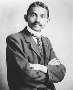 Gandhi as a lawyer in South Africa