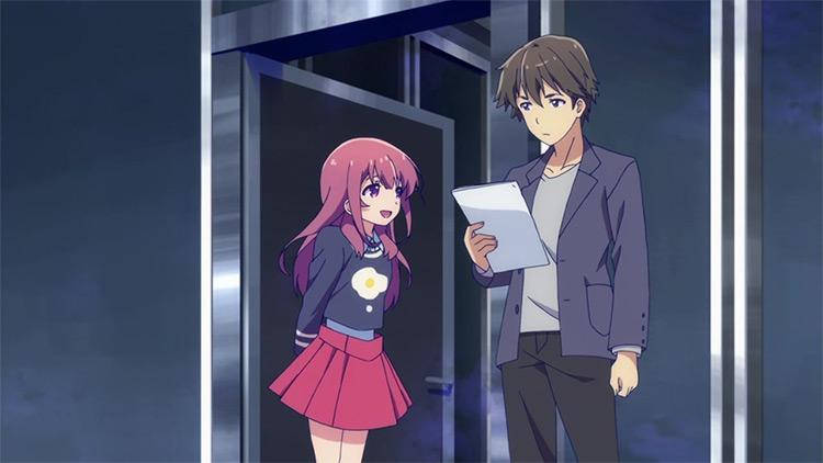 Girlish Number anime