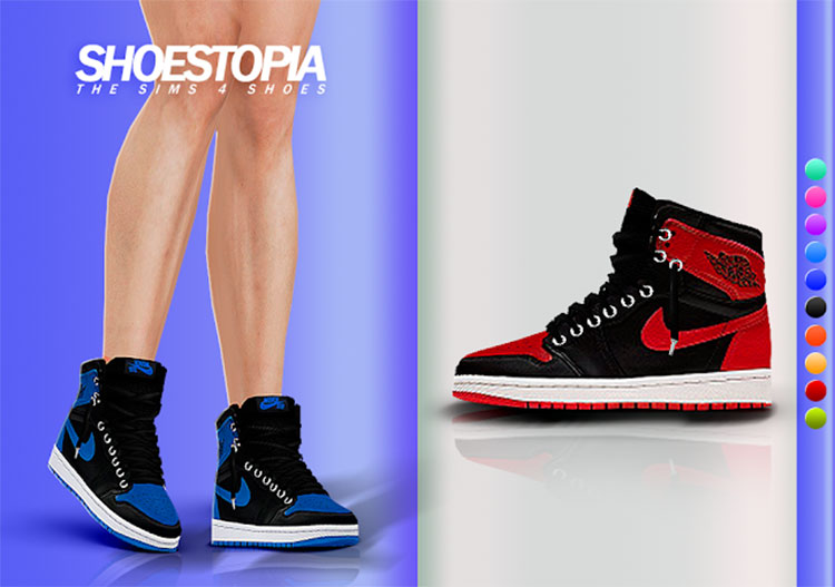Hades Shoes For The Sims 4