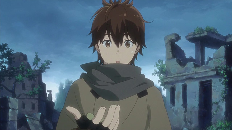 Haruhiro from Grimgar: Ashes and Illusions anime