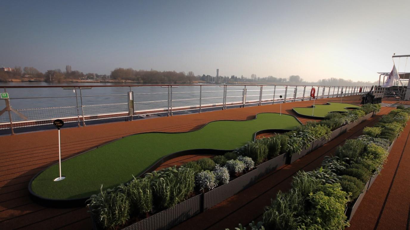 herb garden viking cruise longship