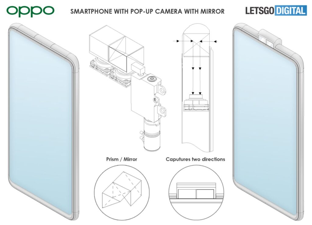 Oppo Reno Phone With Double Sided Pop up Camera Gets Rendered