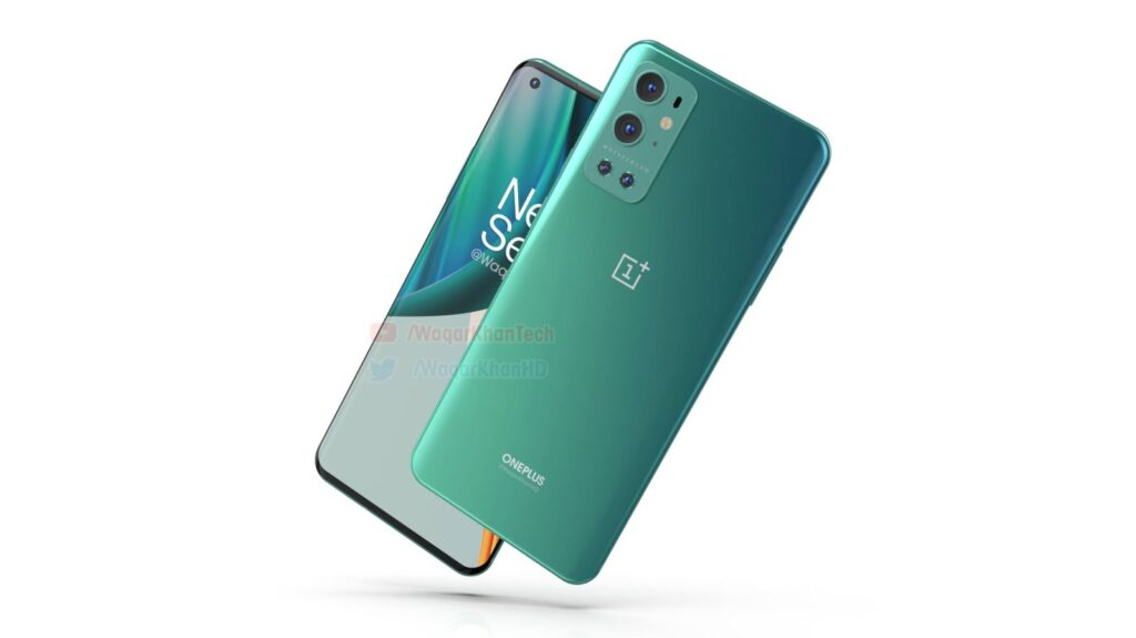 OnePlus 9 PRO Gets Official Looking Renders in All Four Colors, Video Too